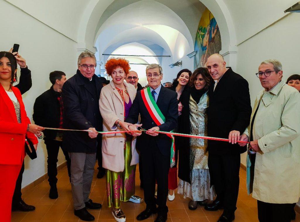 Taglio del nastro per il Museo del Premio Ermanno Casoli