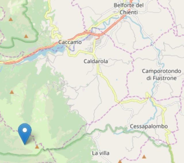 Il sisma a Caldarola