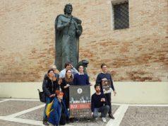 Una immagine della presentazione del Palio di San Floriano