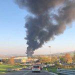 Incendio alla Tontarelli