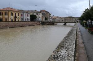 Sceso il livello del fiume Misa a Senigallia dopo le abbondanti piogge