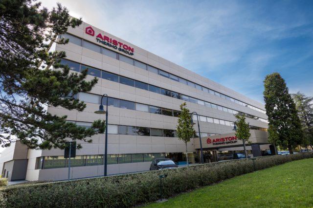 La sede di Ariston Thermo Group a Fabriano