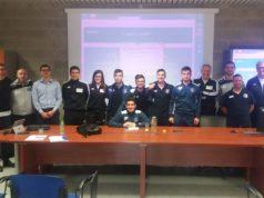Una delegazione del Cus Ancona nella sede del CONI Marche