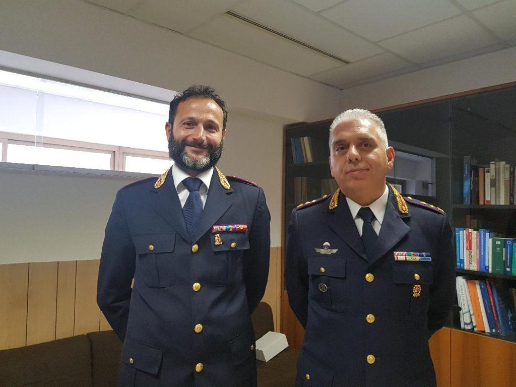 Da sinistra Francesco Monterisi e Carlo Pinto