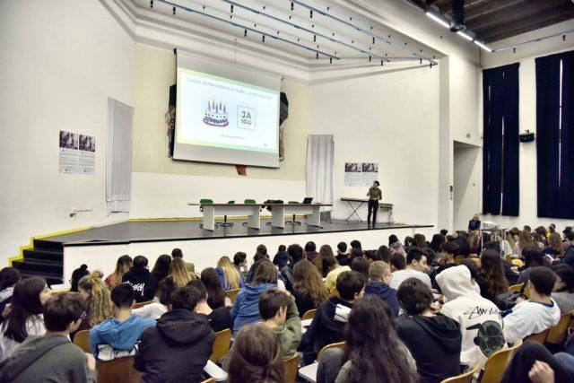 Gli studenti coinvolti nel progetto