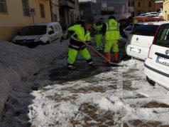 La Protezione civile al lavoro a Osimo
