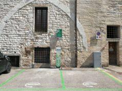 Le colonnine elettriche a Sassoferrato
