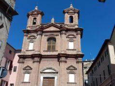 La facciata della chiesa di San Pietro Apostolo
