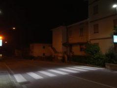 Le nuove strisce pedonali illuminate a led