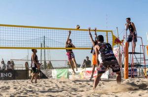 """Il torneo di beach volley """"SunSen"""" a Senigallia"""