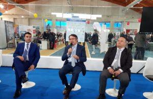 Da sinistra, Diego Mingarelli, Carlo Robiglio, Gino Sabatini