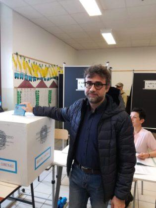 Il candidato sindaco per Territorio e Comunità Fabio Pasquinelli