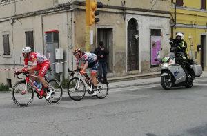 La coppia di testa dell'ottava tappa del Giro d'Italia