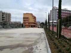 I lavori per il nuovo parcheggio alla stazione ferroviaria di Senigallia