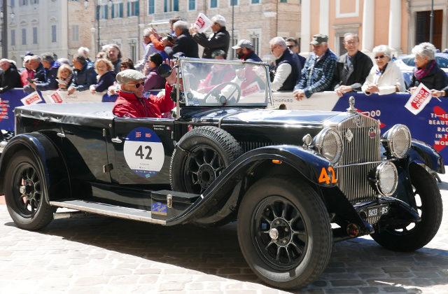I piloti della Mille Miglia 2019 passano a Senigallia