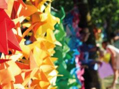L'origami a forma di gru è un simbolo di pace