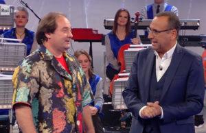Paolo Casagrande e Carlo Conti a La Corrida su Rai Uno