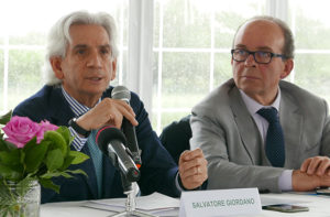 Salvatore Giordano e Gianfranco Santi, rispettivamente vicepresidente e consigliere della Camera di Commercio delle Marche