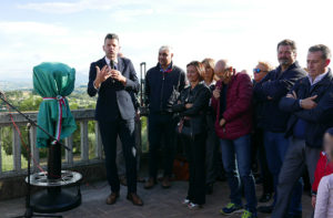 l'intervento del sindaco Maurizio Mangialardi