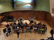 L'esibizione dei musicisti della scuola Marchetti di Senigallia alla XXX Rassegna musicale nazionale di Cremona