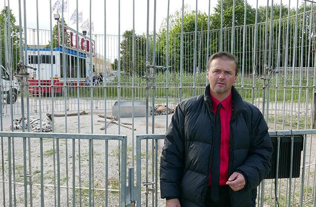 Stefano Rossi, domatore degli animali del Royal Circus