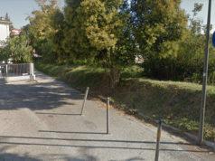 Il vialetto ciclabile che costeggia un tratto cittadino del fiume Misa e che collega lo stradone Misa con via Rossini
