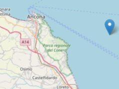 Area interessata dal sisma immagine tratta da Ingv)