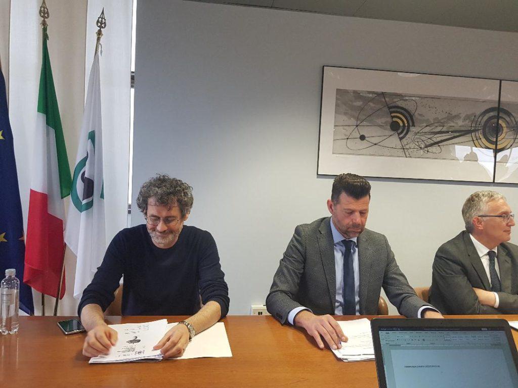 Paolo Marasca e Maurizio Mangialardi