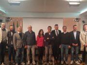 Pieroni e Mangialardi insieme ad alcuni sindaci