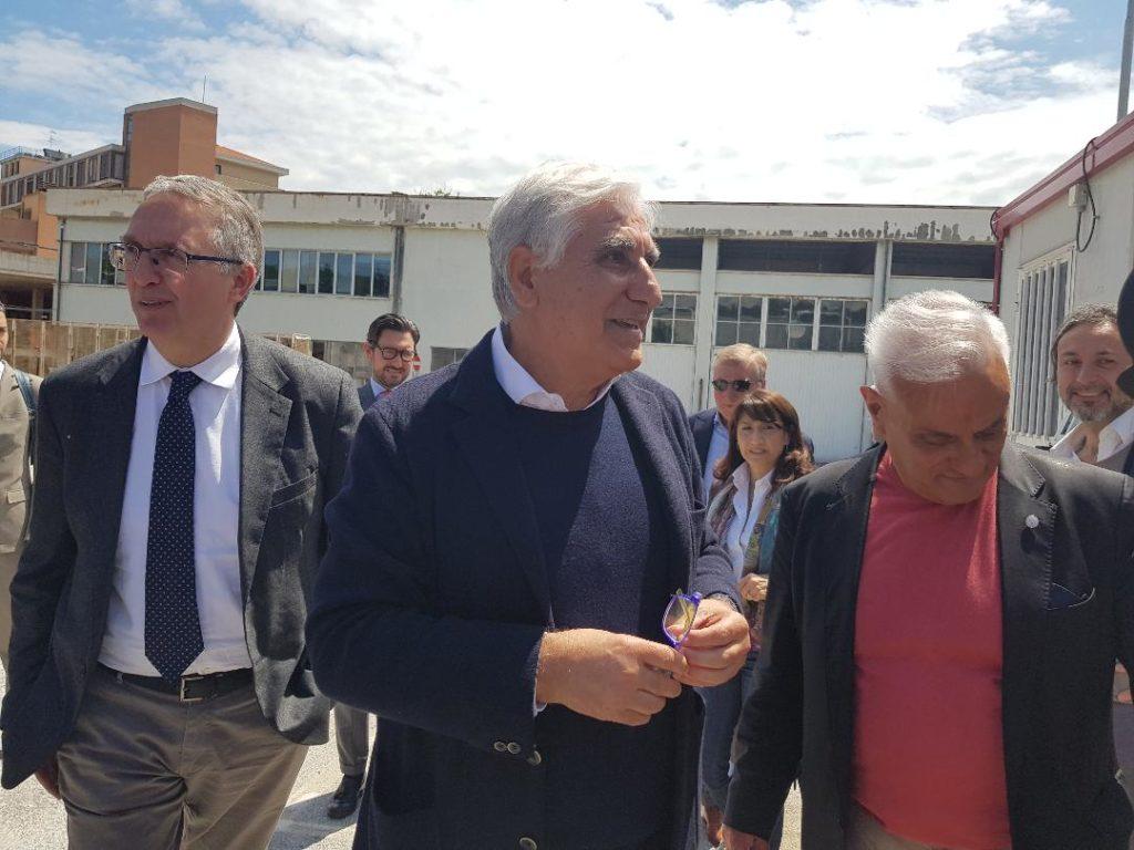 Luca Cerisciolo, Dino Bonadies e Michele Caporossi