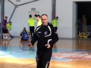 Paolo Amadei, allenatore confermato alla guida dell'Apd Cerreto d'Esi calcio a 5