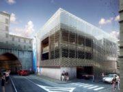 Il progetto del parcheggio multipiano nell'ex Caserma San Martino, ad Ancona