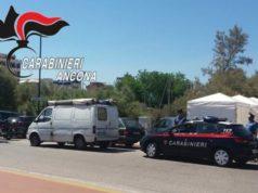 I carabinieri al lavoro a Senigallia