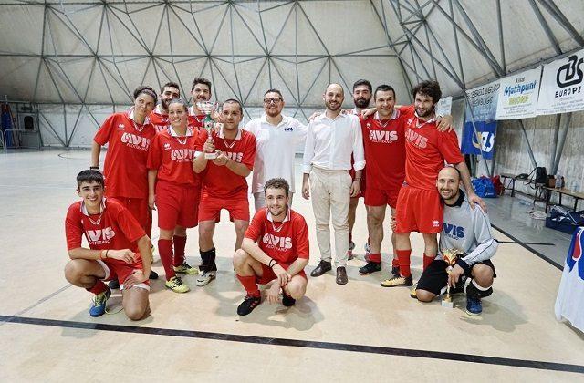 L'Avis Filottrano vittoriosa nel trofeo CalcionelSangue