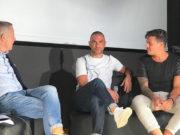 Da sx Mauro Anconetani, Salvatore Mastronunzio e Gianclaudio Lori