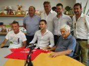 In piedi, da sinistra: Santinelli, Bugari, Bartoloni e Giannini. In basso da sx Giampaoli Gabriele, Giambuzzi e Paolo Giampaoli