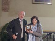Gustavo Cuccini e Paola Martini, il giorno dell'inaugurazione dell'Unitre a dicembre scorso