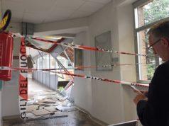 Il sopralluogo del governatore Luca Ceriscioli all'ospedale di Loreto