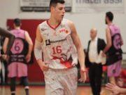 Thomas Monina, nuovo arrivo del Campetto Basket Ancona