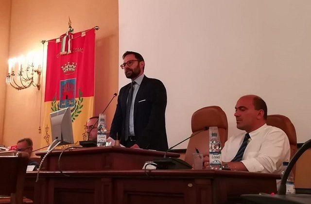 Il neo presidente del Consiglio Giorgio Campanari
