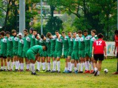 Una delle formazioni giovanili dell'Unione Rugbistica Anconitana