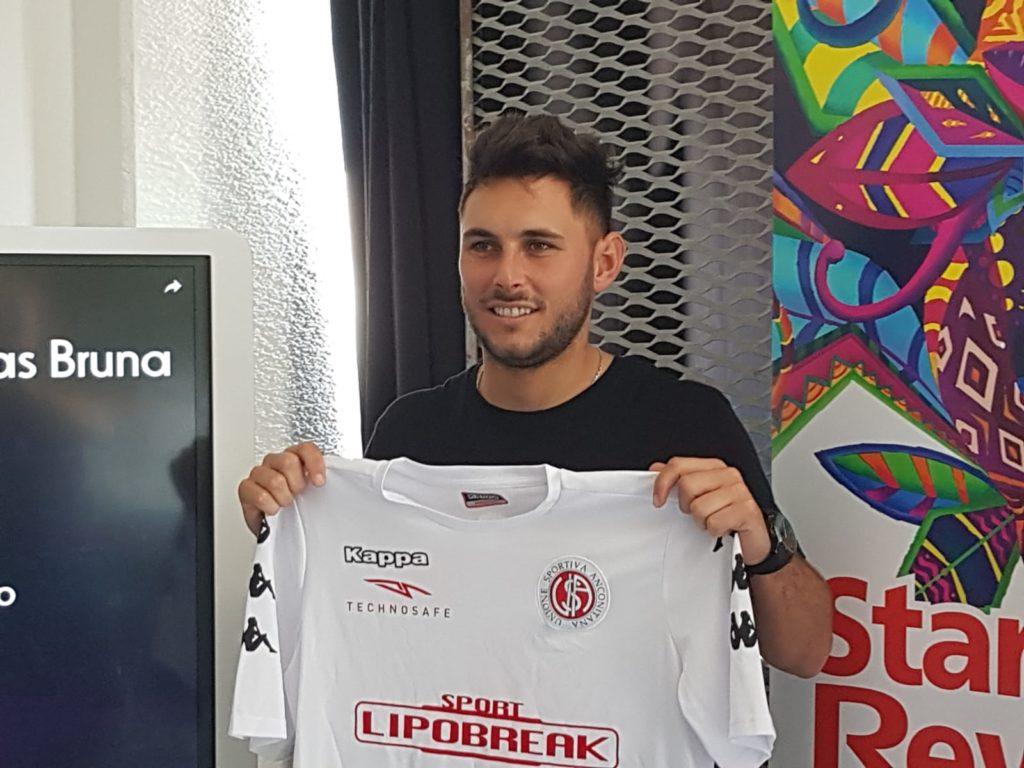 Pablo Nicolas Bruna, nuovo giocatore dell'Anconitana