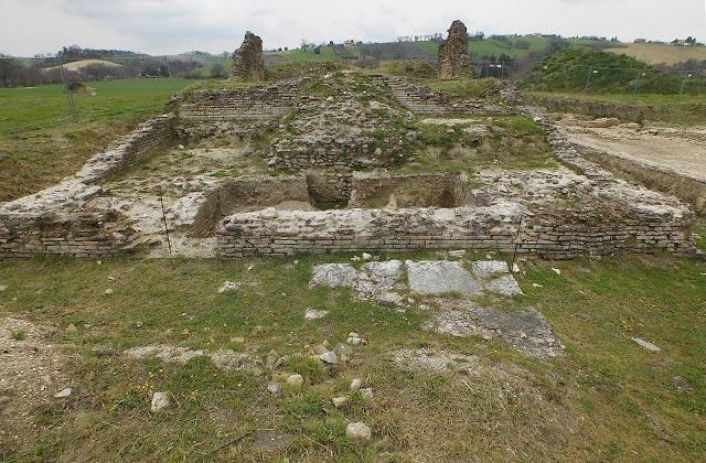 Gli scavi all'area archeologica Le Muracce a Ostra Vetere
