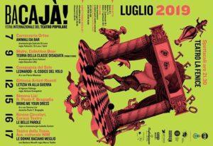 La locandina del festival teatrale Bacajà!