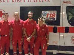 I volontari della Croce Rossa di Senigallia presenti al CaterRaduno: vari interventi per malori dovuti al caldo