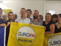 Il segretario di +Europa Della Vedova ad Ancona con gli attivisti di Senigallia e delle Marche