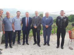 Foto di gruppo con il Prefetto di Ancona, Antonio D'Acunto