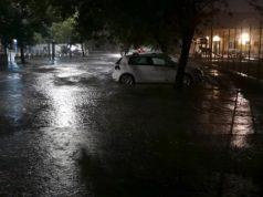 Maltempo a Senigallia: pioggia e allagamenti