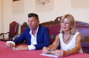 Maurizio Mangialardi e Simonetta Bucari