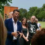 Il discorso del sindaco Mangialardi